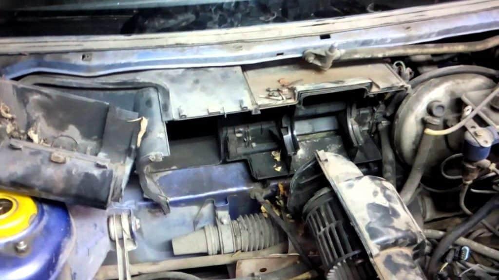 Как заменить радиатор печки 2110 и 2112