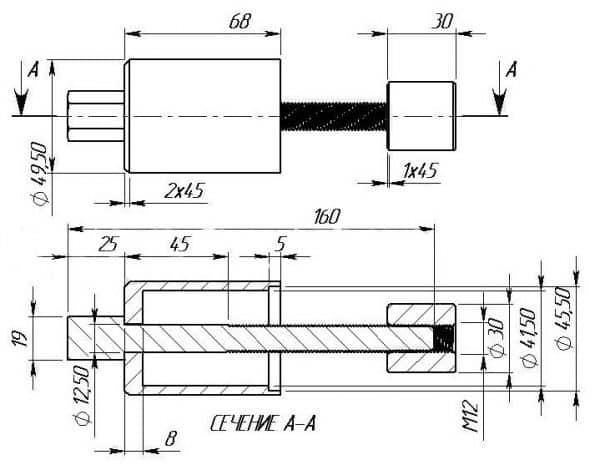 Как заменить сайлентблоки в ВАЗ 2106 и 2107