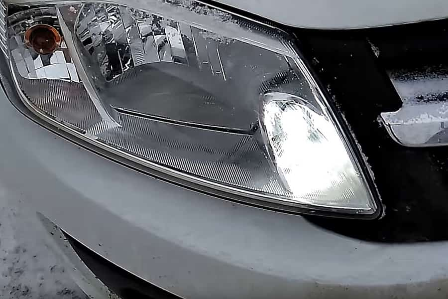 Монтаж светодиодных ламп на Ладе