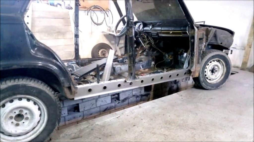 Ремонт кузова ВАЗ 2106